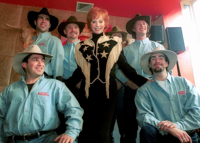 Country music singer Reba McEntire as Annie