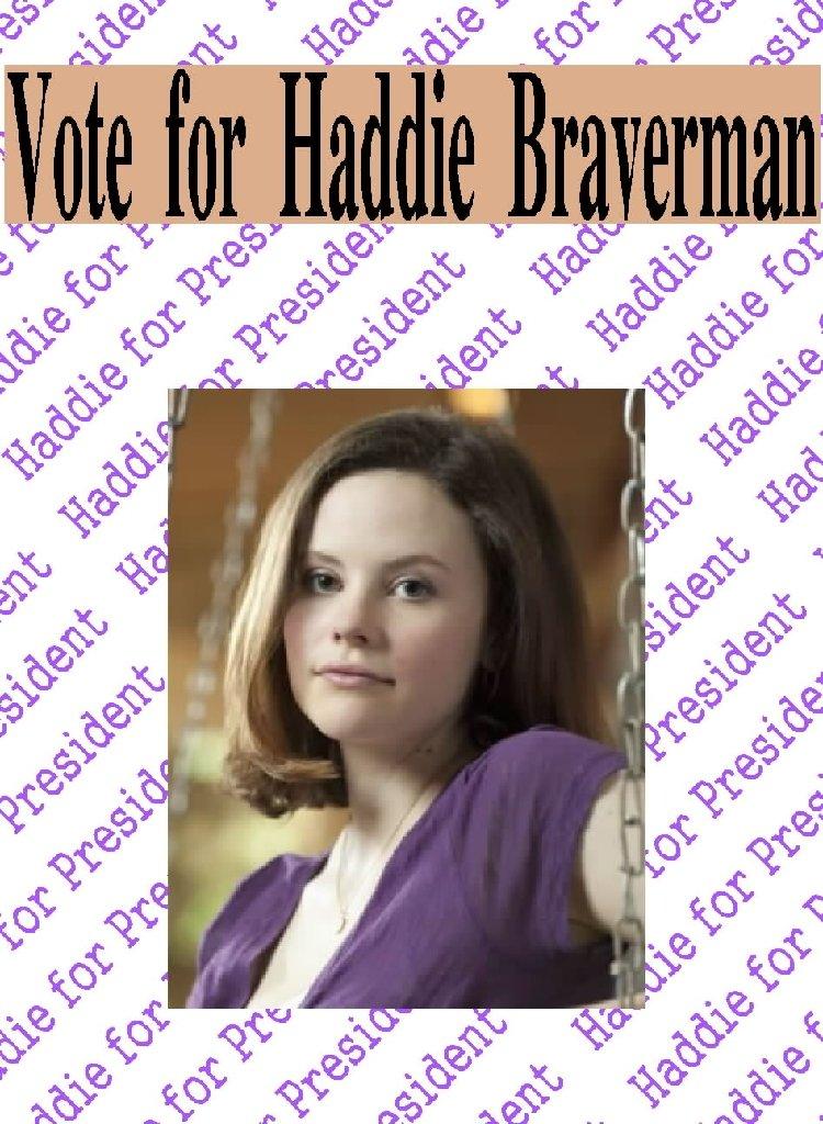 Vote for Haddie