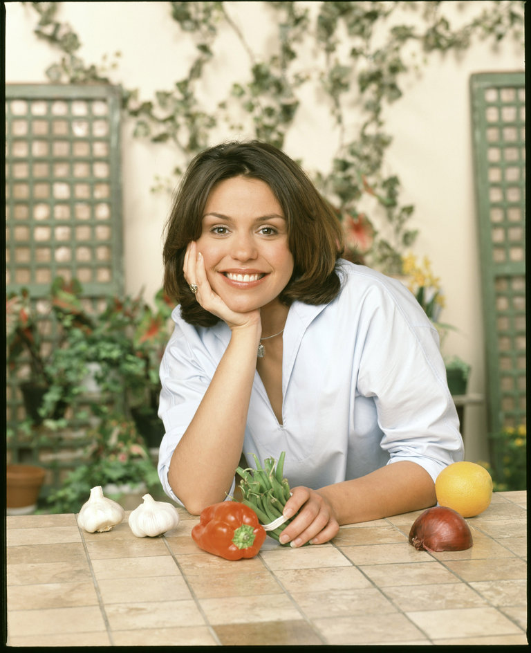 Rachael Ray Portrait Session at Food Network - August 20, 2001