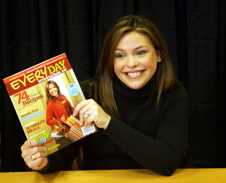 "Rachael Ray Signs Exculsive Copies Of Her New Magazine ""Every Day With Rachael Ray"""