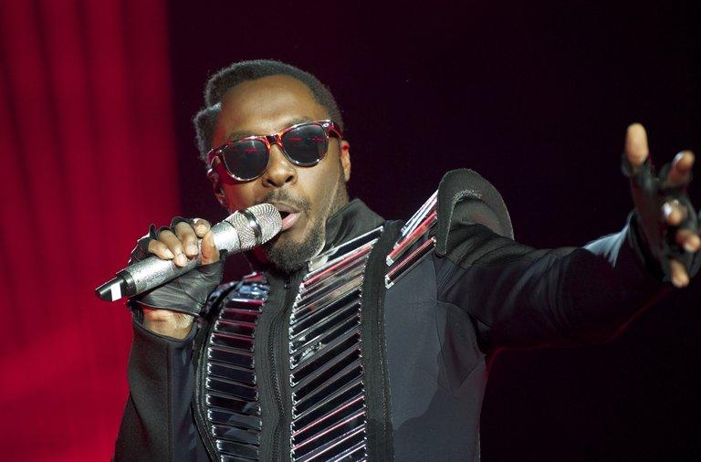 Black Eyed Peas Perform In Concert In Madrid