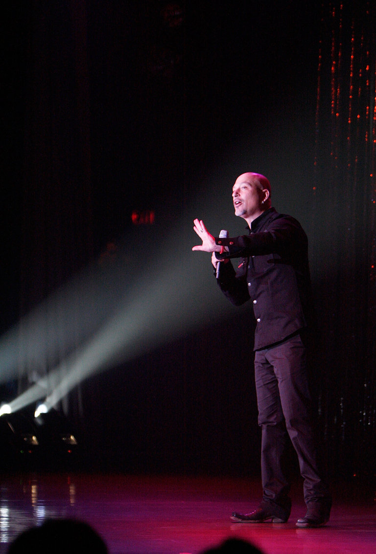 Howie Mandel Performs In Atlantic City