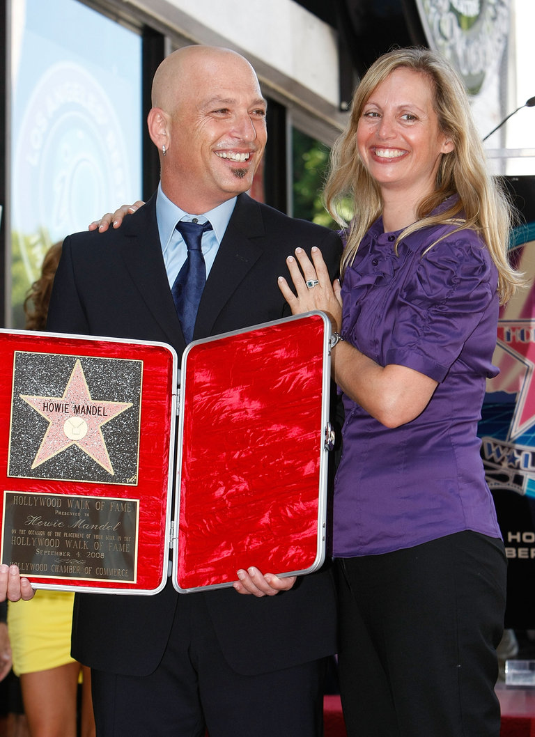 Howie Mandel Honored At The Hollywood Walk Of Fame