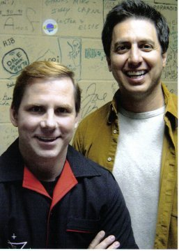 Me with Ray Romano