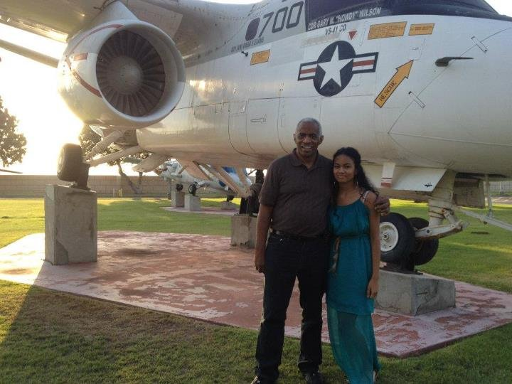 Hanging out in Naval Air Force Base in San Diego