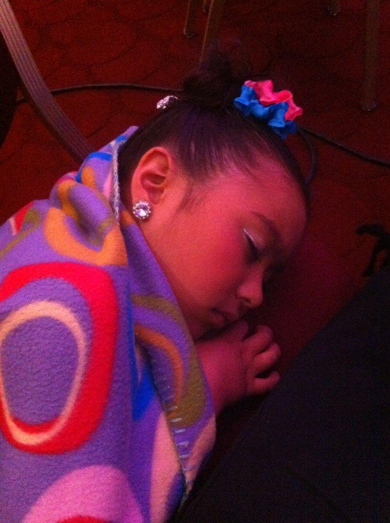 LA audition - nap time