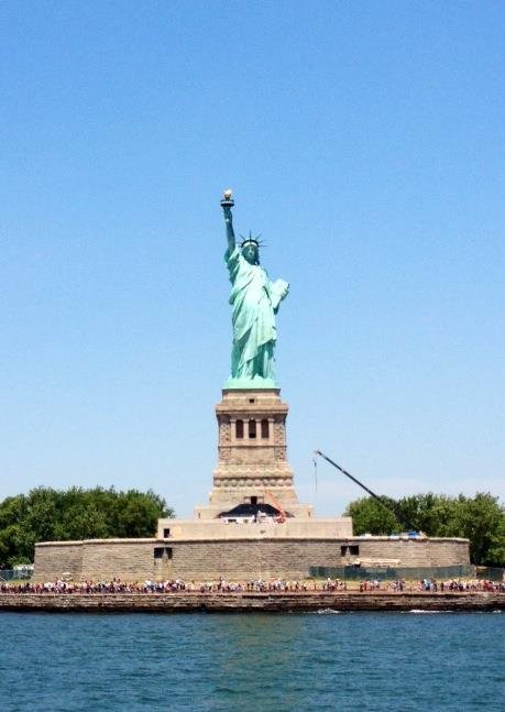 Visit to Statue of Liberty