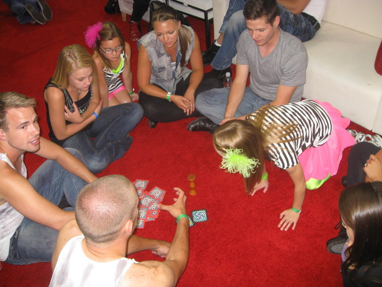 Playing Jungle Speed!