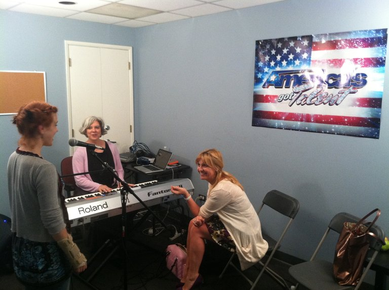 Vocal Rehearsal