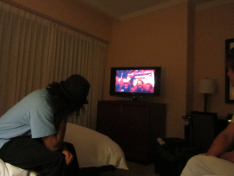 Snap in the room watching AGT