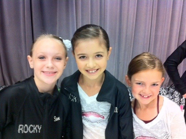 Sam, Chloe and Ellie