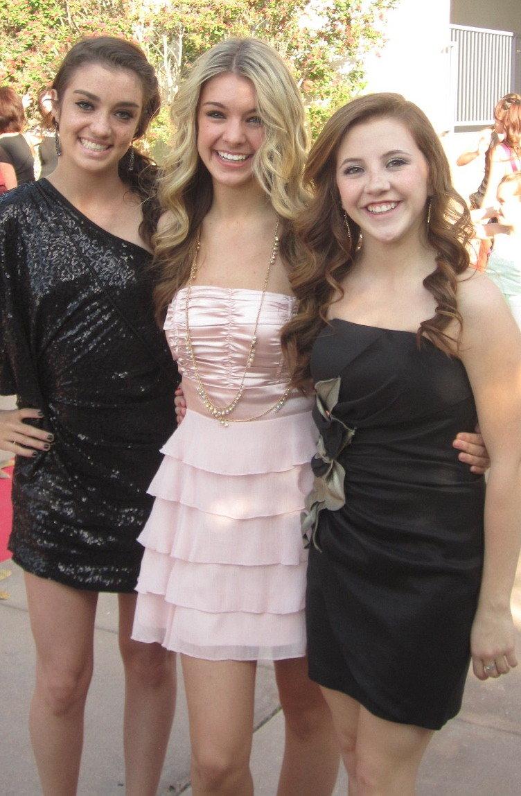 Kelsie, Cydney & Emily R.