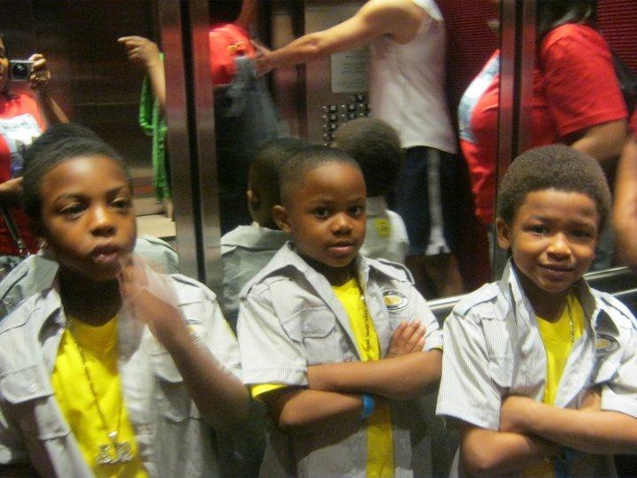 we love the elevator