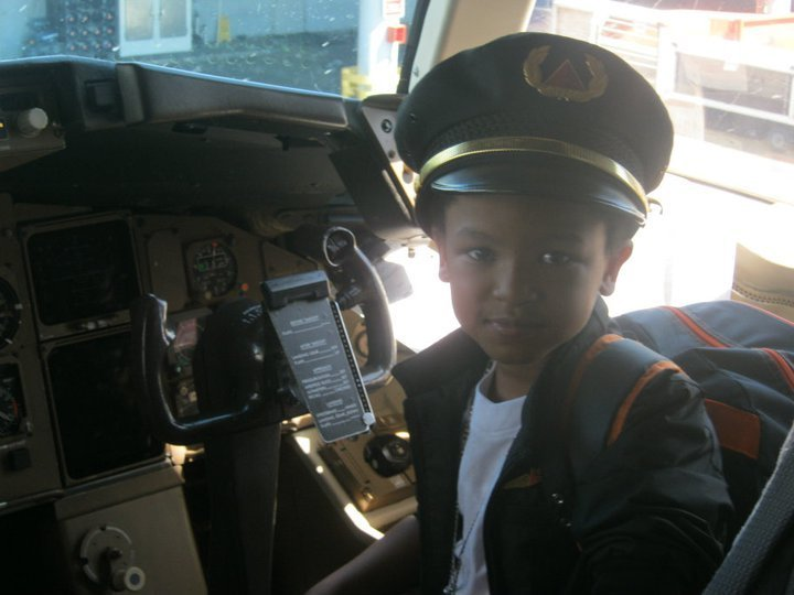 Captain of the SH'Boss Boys and Captain of the plane.