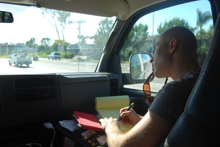 drive to LA for AGT