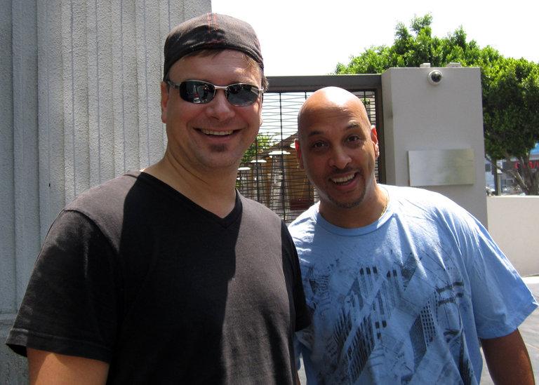 Scott and Puck