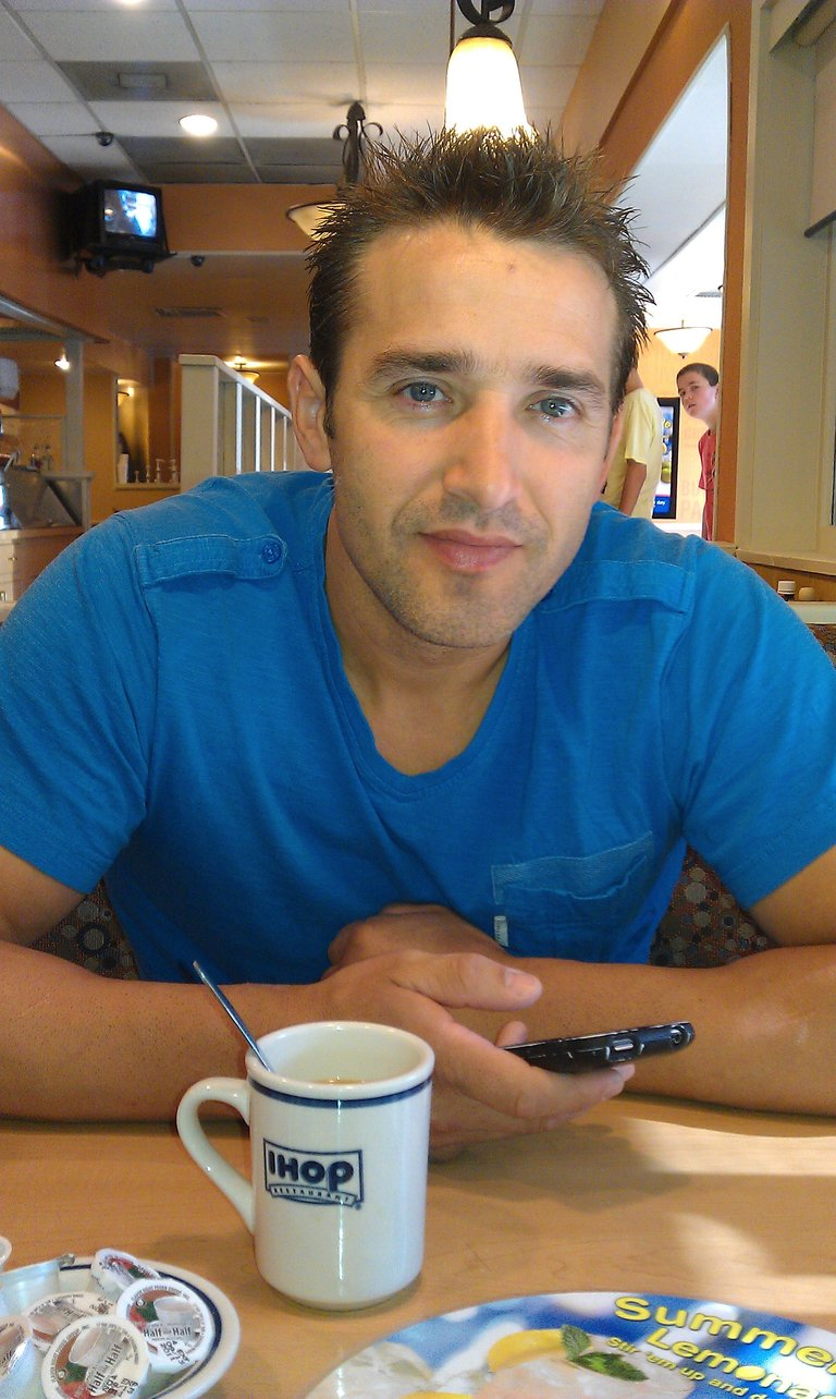 breakfast with the hubby