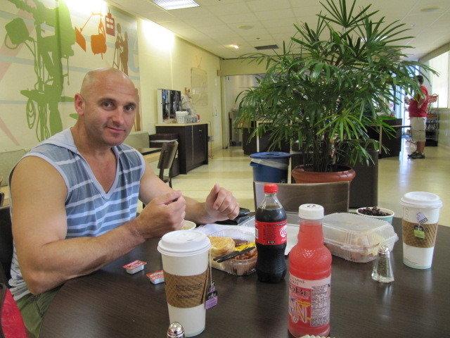 Breakfast with Sergei