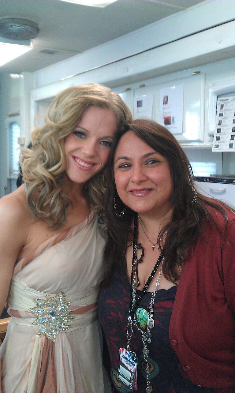 my AMAZING makeup artist!!!