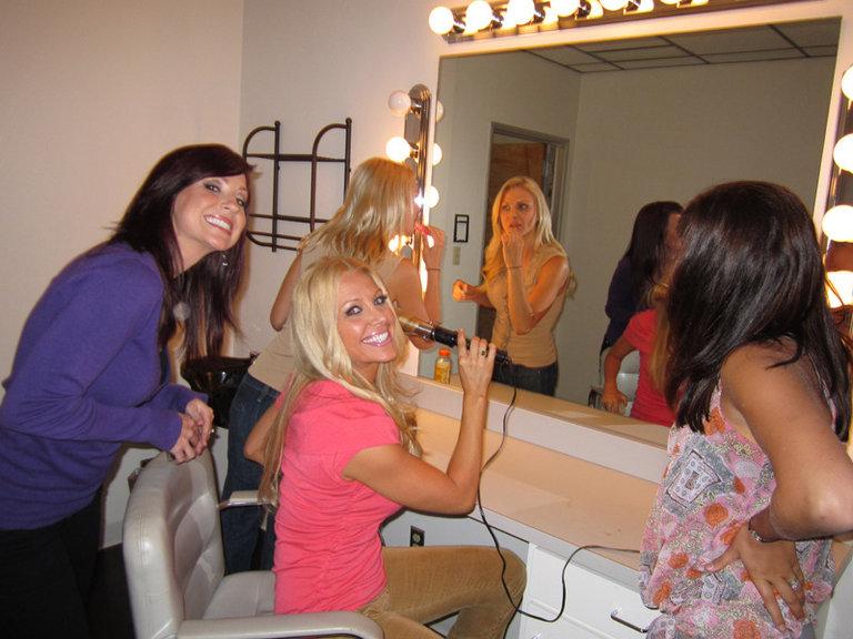 Dressing Room fun :)