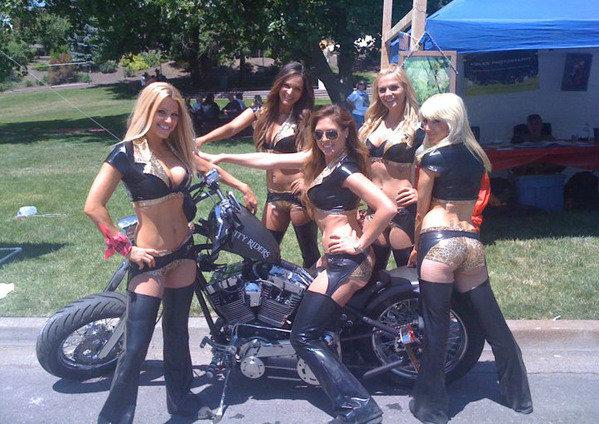 Angelz love motorcycles!!