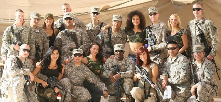Performing for the U.S. Troops!