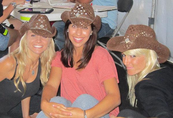 Paige, Sami, and Kristine