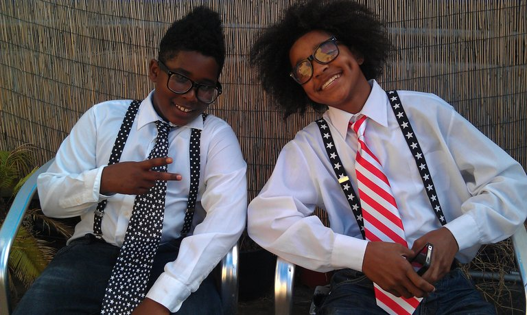 Jaden and Denzel