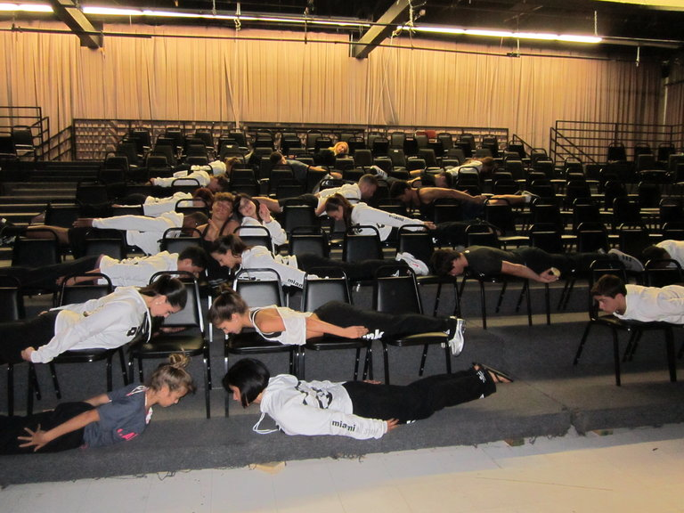 The Ultimate Miami All Star PLANK!!!