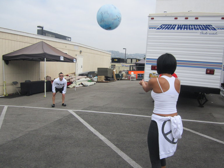 We Got Bored Waiting Around So We Decided To Toss The AGT Ball Around!