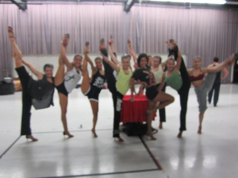 Girls Showing Off Their Flexibility!