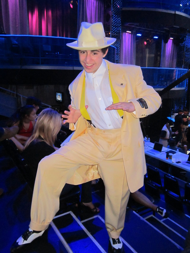 Rudy Rockin' The Yellow Zuit Suit!