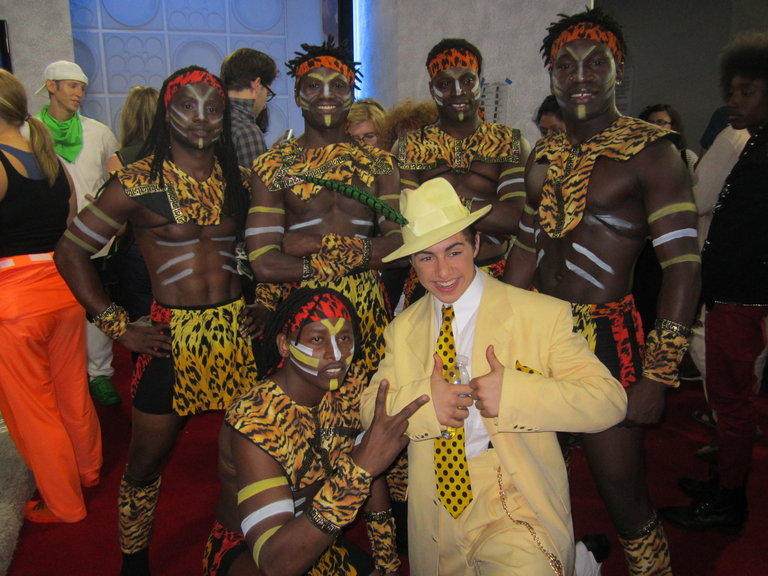 Rudy With Zuma Zuma! Funnniest Group Of Guys Ever!
