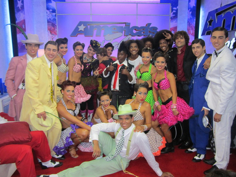 Some Of The Cast Of The First Semi-Final Show!