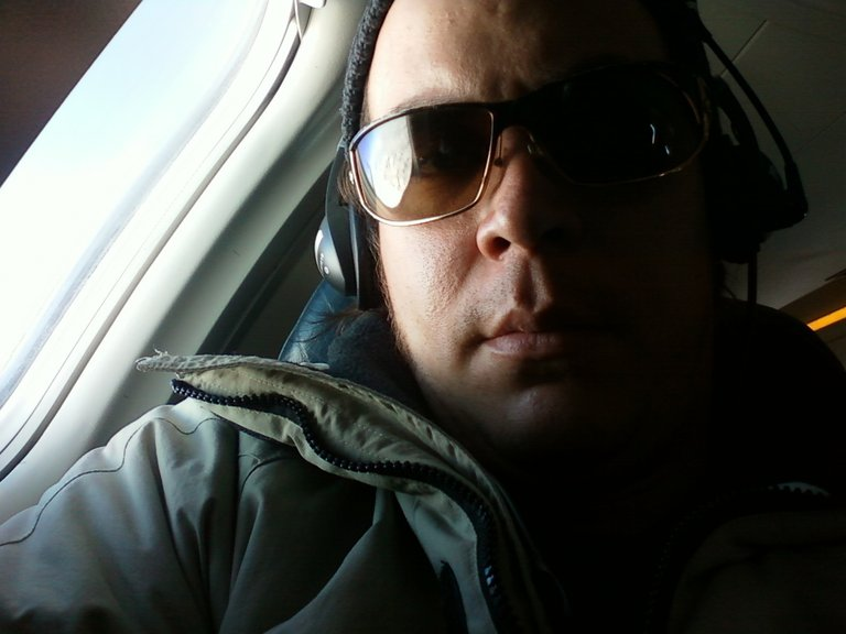 MAURICIO During his Flight to Seattle