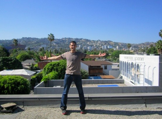 Hollywood hills!