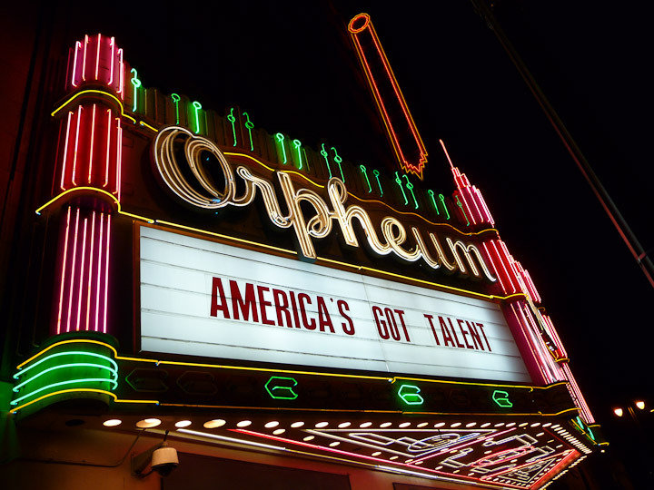 The Orpheum Theater - Los Angeles Audition