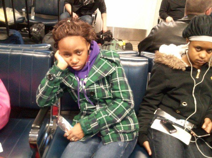 Sleepy before 5am flight