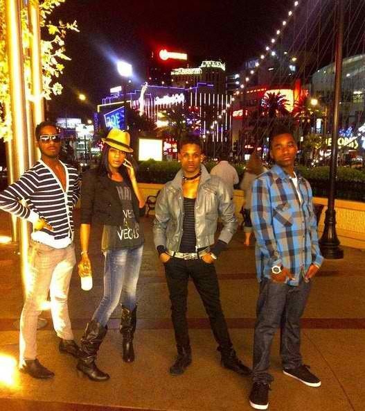 On the Vegas Strip