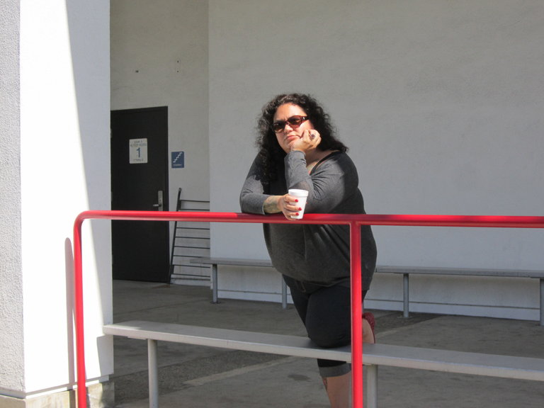 Coffee Break at the Studio