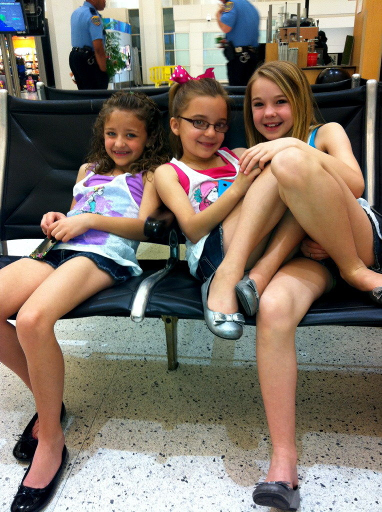 A+CH at the Houston Airport Headed Home