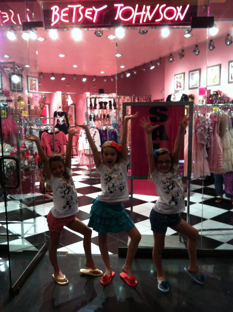 A+CH Shopping at Betsey Johnson in Vegas