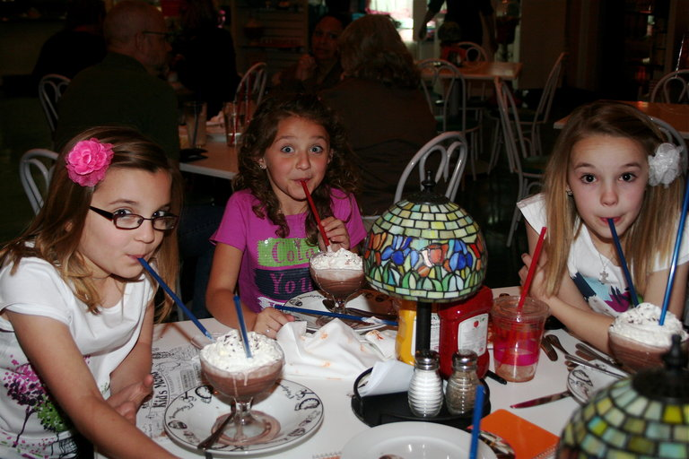 A+CH Sippin' Frozen Hot Chocolate in Vegas