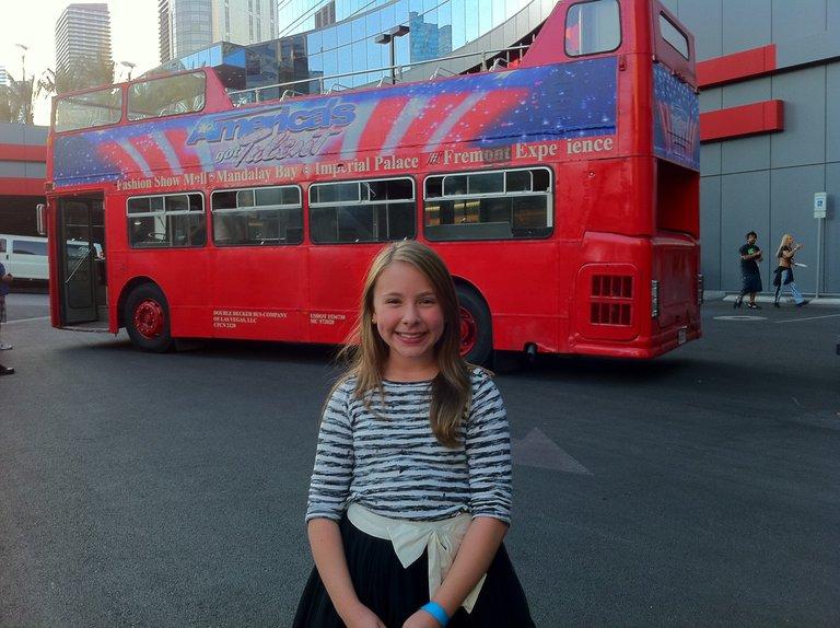 agt double decker bus in vegas