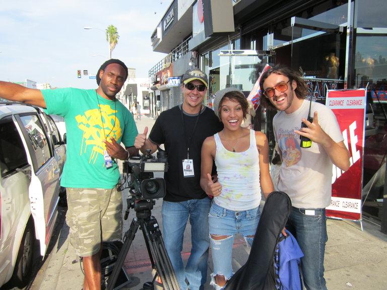 The Film Crew!! :)