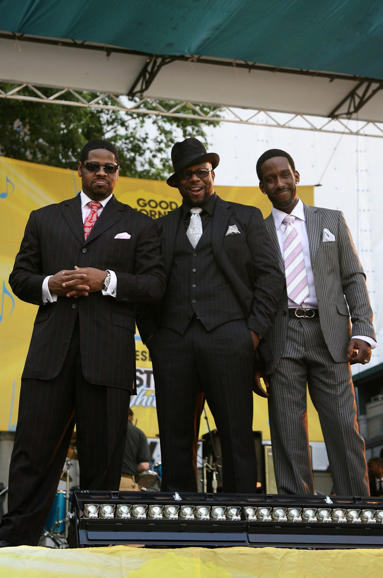 "Boyz II Men Perform On ABC's ""Good Morning America"""