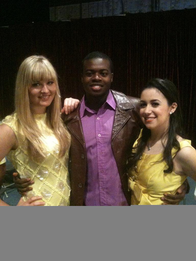 Morgan and Alyssa from the Deltones w/ a PTX hottie :)