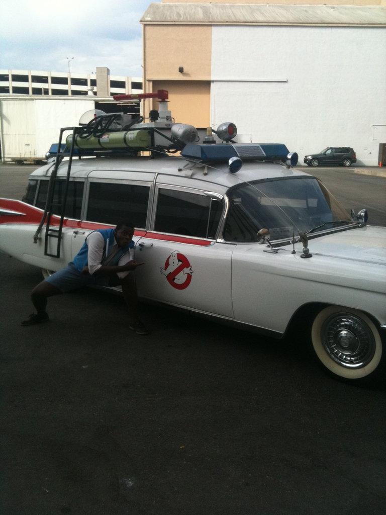 Ghostbuster's car AHHH!!