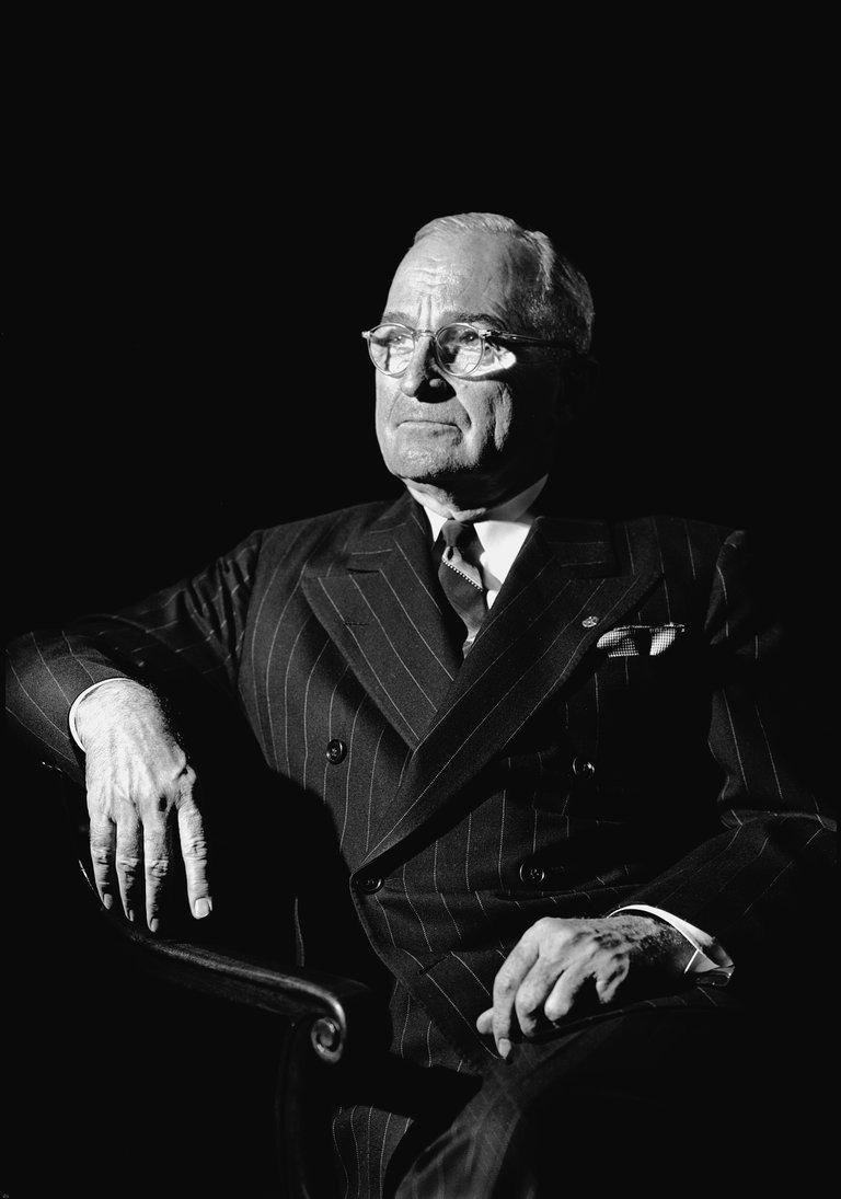 Portrait Of President Truman