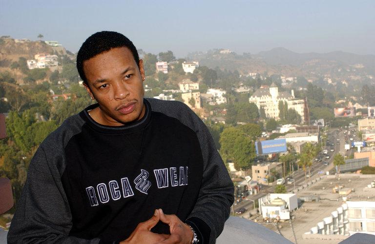 Rapper Dr. Dre Portrait